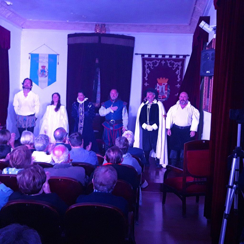 Don Juan en Real sociedad Económica de Amigos del País de Cartagena