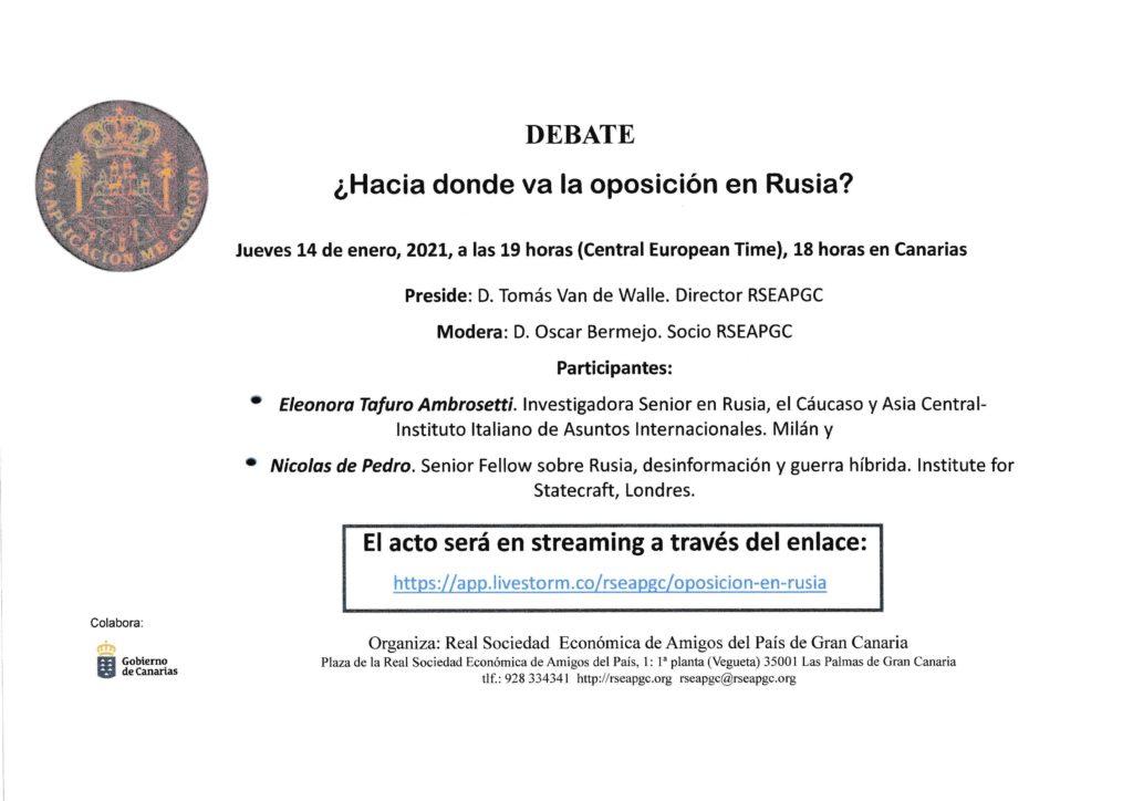 Cartel Debate 14.01.21