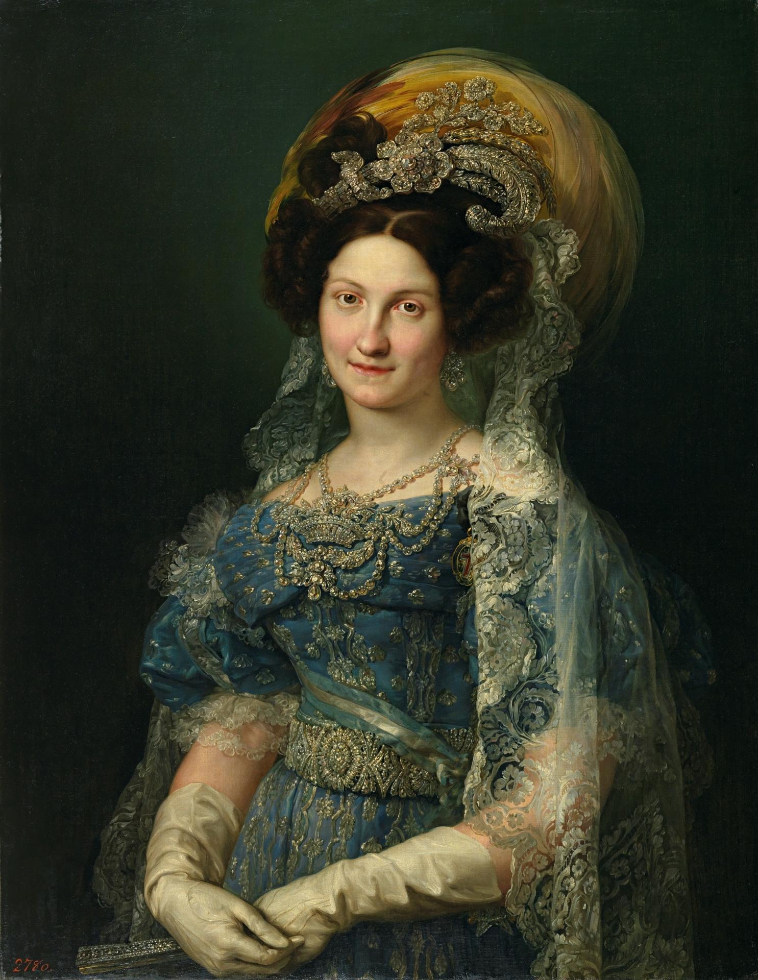 María Cirstina de Borbón, Reina de España